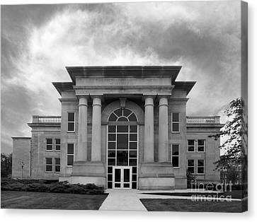 De Pauw University Emison Building Canvas Print by University Icons