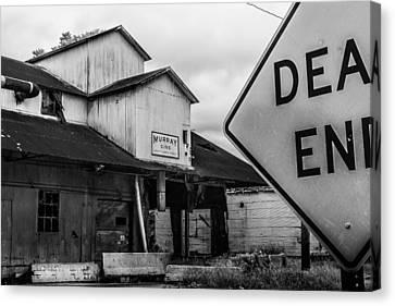 Dead End Canvas Print by Jon Woodhams