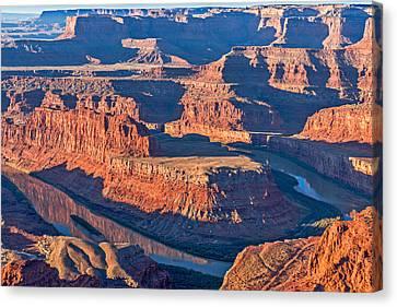 Dead Horse Dawn - Utah Sunrise Photograph Canvas Print by Duane Miller