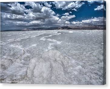 Dead Sea Canvas Print by Isaac Silman