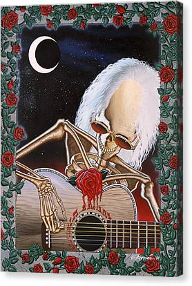Dead Serenade Canvas Print by Gary Kroman