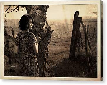 Dear Norma Canvas Print by Theresa Tahara