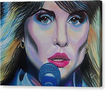 Debbie Harry Canvas Print by Kevin Hubbard
