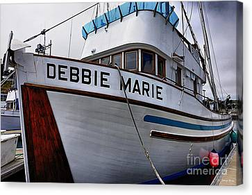 Debbie Marie Canvas Print by Cheryl Young