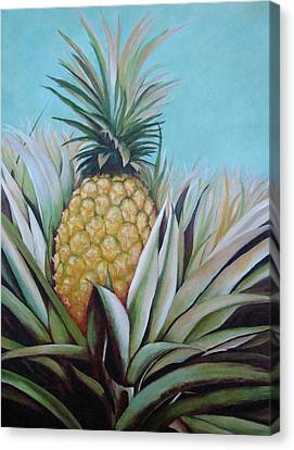 Debutante Canvas Print by Migdalia Bahamundi