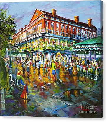 Decatur Evening Canvas Print by Dianne Parks