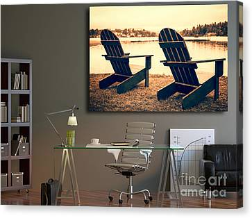 Decorating With Fine Art Photography Canvas Print by Edward Fielding