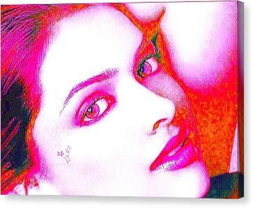 Deepika Padukone Canvas Print by Ricky Nathaniel