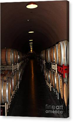 Deerfield Ranch Winery 5d22215 Canvas Print by Wingsdomain Art and Photography