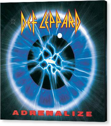 Def Leppard - Adrenalize 1992 Canvas Print by Epic Rights