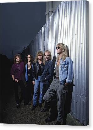Def Leppard - Adrenalize Me 1992 Canvas Print by Epic Rights