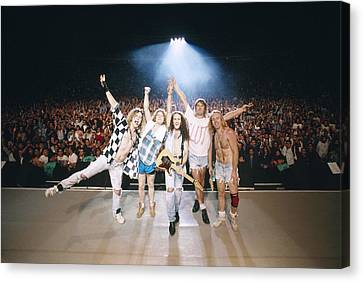 Def Leppard - Adrenalize Tour 1992 - On Stage Canvas Print by Epic Rights