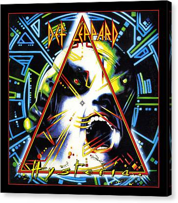Def Leppard - Hysteria 1987 Canvas Print by Epic Rights