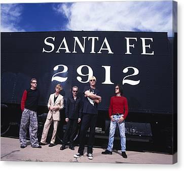 Def Leppard - Santa Fe 1999 Canvas Print by Epic Rights