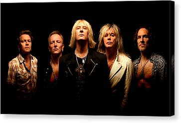 Def Leppard - Sparkle Lounge Tour 2008 Canvas Print by Epic Rights
