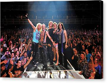 Def Leppard - Viva! Hysteria At The Hard Rock 2013 Canvas Print by Epic Rights