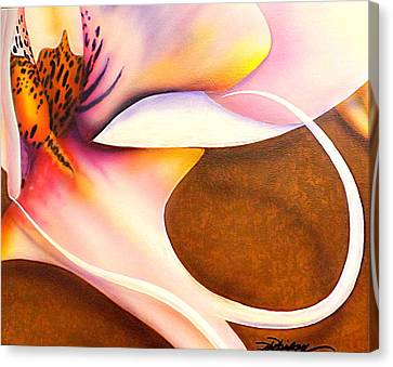 Defined Fine Lines Canvas Print by Darren Robinson