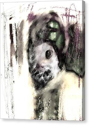 Deformed Personality Canvas Print by Ruth Clotworthy