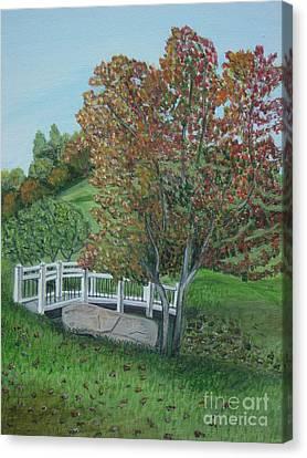 Delfosse Bridge Canvas Print by Gloria Patrick Sumter
