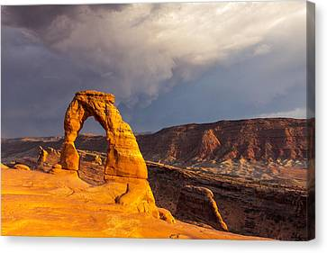 Delicate Arch Canvas Print by Jim Baker