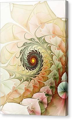 Delicate Wave Canvas Print by Anastasiya Malakhova