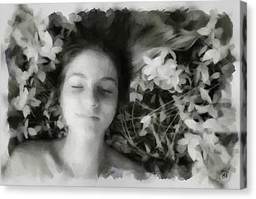 Delight Canvas Print by Gun Legler