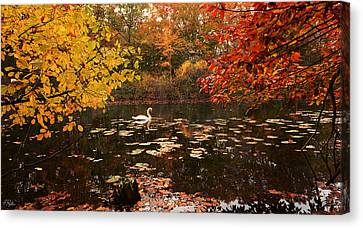 Delightful Autumn Canvas Print by Lourry Legarde