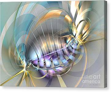 Delightful Tone - Surrealism Canvas Print by Sipo Liimatainen