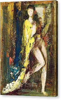 Delilah Canvas Print by Gustave Moreau