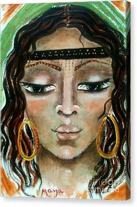 Delilah Canvas Print by Maya Telford