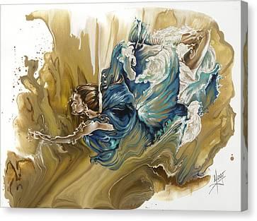 Deliver Canvas Print by Karina Llergo