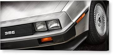 Delorean Dmc-12 Canvas Print by Gordon Dean II