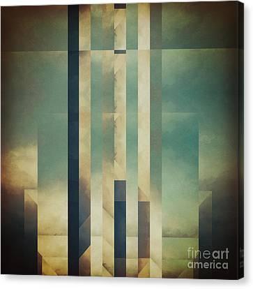 Demagogic Sky Canvas Print by Lonnie Christopher