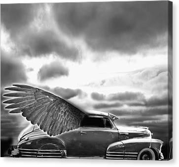 Demon Chevrolet Canvas Print by Larry Butterworth