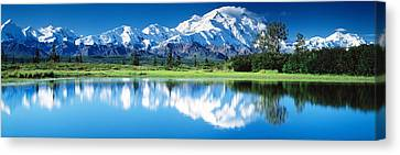 Denali National Park Ak Usa Canvas Print by Panoramic Images