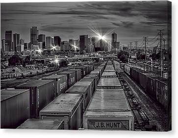 Denver's Underbelly Canvas Print by Kristal Kraft
