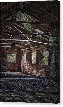 Derelict Building Canvas Print by Amanda And Christopher Elwell