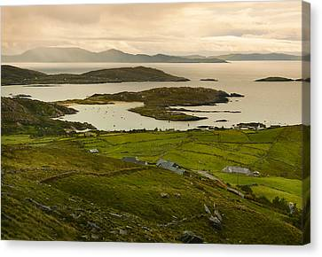 Derryname Harbour. Canvas Print by Terence Davis