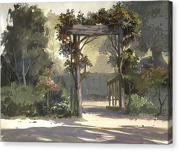 Descanso Gardens Canvas Print by Michael Humphries