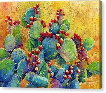 Desert Gems Canvas Print by Hailey E Herrera