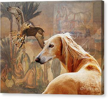 Desert Heritage Canvas Print by Judy Wood