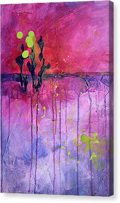 Desert Landscape Abstract Canvas Print by Nancy Merkle