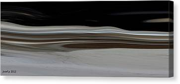 Desert Of Trust Two Canvas Print by Sir Josef - Social Critic - ART