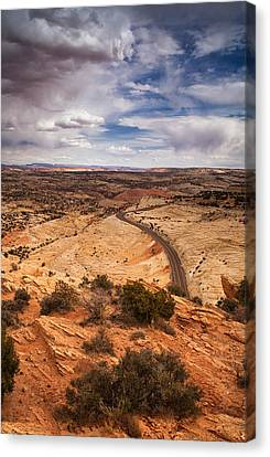 Desert Road Canvas Print by Andrew Soundarajan