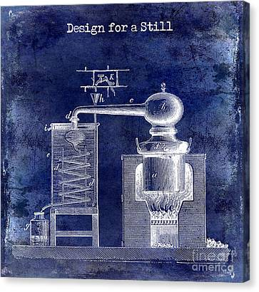 Design For A Still Canvas Print by Jon Neidert