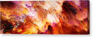 Desire - Abstract Art Canvas Print by Jaison Cianelli