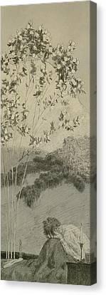 Desires Canvas Print by Max Klinger