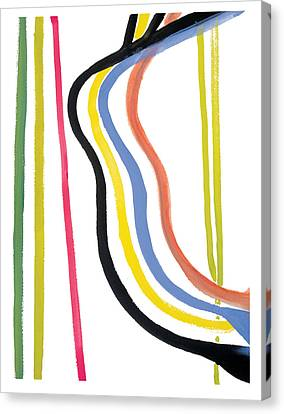 Destiny Canvas Print by Bjorn Sjogren