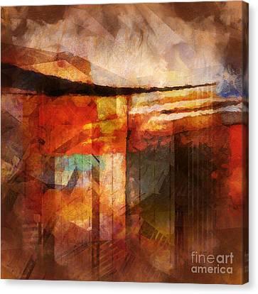 Destinyscape Canvas Print by Lutz Baar
