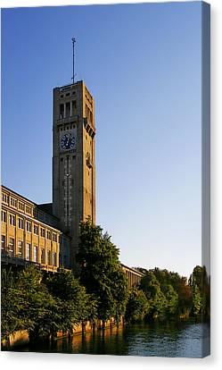 Deutsches Museum Munich - Meteorological Tower Canvas Print by Christine Till